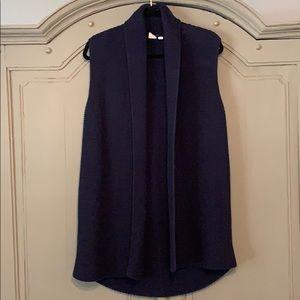Gap sleeveless sweater cardigan